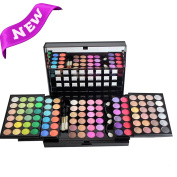 FantasyDay Pro 96 Colours Eyeshadow Palette Makeup Cosmetic Contouring Kit Combination with Blusher / Lipgloss / Concealer etc. - Ideal for Professional and Daily Use