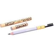 HENGSONG Pro Beauty Longlasting Eyeliner Eyebrow Pencil with Brush Make Up