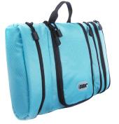 Toiletry Bag, GOX Premium Multi-use Large Capability 420D Nylon Portable Hanging Wash Bag / Toiletry Bag / Kit / Travel Organiser with Hook