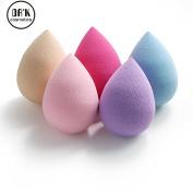 DRQ Makeup Blender Sponges -5PCS Pro Beauty Latex Free Makeup Blender Blending Foundation Sponge Flawless Smooth Puffs Multi Shape Sponges
