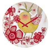 DENY Designs Cori Dantini Sweetie Pie Round Clock, 30cm Round