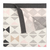 Geometric BowTies Knit Blanket Colour