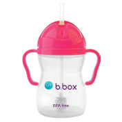 B Box Easy Grip Sippy Cup Limited Edition Colour Pomegranite Pink