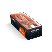 Arcos 12-Piece Forged Steak Knife and Fork Set, 10cm