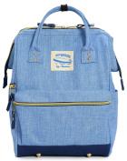 Wide Open Designer Baby Nappy Bag By Moskka–Travel Backpack, Nappy Tote Bag w/ Stroller Straps, Changing Pad & Insulated Pocket For Mom & Dad –Large Capacity Smart Nappy Bag Organiser w/ Shoulder Straps-Blue