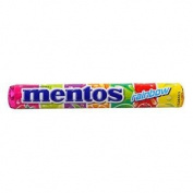Mentos Roll Rainbow Candy 37.5g.