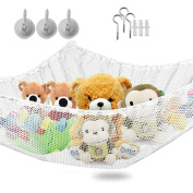 Larger Hammock for Soft Toy Keep Baby Kids Bedroom Tidy Mesh Storage Idea for Nursery Play Can be Uesed as a Corner Hammock - Dimensions 140cm x 90cm x 35""