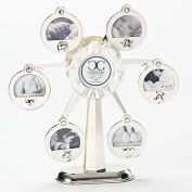 Roman Inc. Caroline Collection 32cm H Musical Ferris Wheel Picture Frame Plays Rock-A-Bye Baby 10881