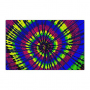 "Flagship Carpet Children Learning Floor Playmat Nylon Tie Dye - 3m"" x 4m"" Toys Christmas Gift"