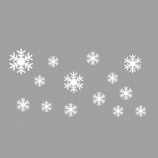 Wall Sticker,SMTSMT Frozen Snow Flakes Vinyl Art Wall