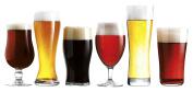 Luminarc 6 Piece Arc International Assorted Craft Brew Glasses Set, Clear