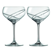 Royal Doulton Promises With This Ring Champagne Saucer Pair, Clear