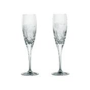 Galway Standard Engraved Flute Bride / Groom Pair