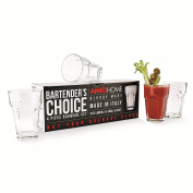 Amici Bartender's Choice Bloody Mary Hiball Glass, 590ml - Set of 4