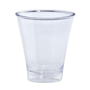 Lillian Tablesettings 10-Piece Double Shot Glasses Set, 150ml, Clear