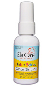ELLA CARE CLEAR SINUSES For Kids & Babies (Ages 2 Months - 12 Years) ✮ Powerful Triple Potency Formula ✮ Your Go-To Natural Remedy For Sinus & Hay Fever Relief ✮ Safe & Gentle For Your Child