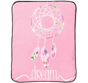 Jay Franco and Sons JF16814ECD 130cm x 150cm Limited Too Dream Catcher Silk Touch Throw Blanket