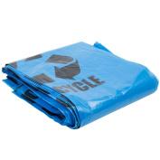 Blue Tint Linear Low Density Recycling Bag 1.2 Mil - 100/Case 151.4-170.3l 100cm X 120cm