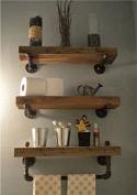 NACH qa-1008 3 Shelves Industrial Shelf with Pipe Tubing