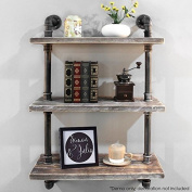 NACH qa-1006 3 Shelves Industrial Shelf with Pipe Tubing