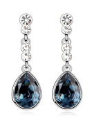 FANSING Jewellery Made with Element Crystal Drop Earrings for Women