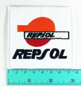 3 Patch Repsol Oil Car Motorcycles Racing Biker Logo Jacket Patch Sew Iron on Embroidered Symbol Badge Cloth Sign
