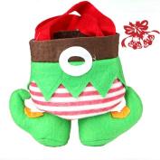 AIMTOPPY Creative Christmas Elf Candy Gift Bag Sack Stocking Decoration Supplies
