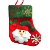 AIMTOPPY Snowman Santa Claus Christmas Candy Gift Bag Stockings Socks Bag Xmas Hanging Decor