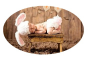 Baby Box Cute Newborn Photography Clothing Outfit Props White,Bunny