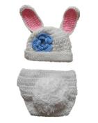 Baby Box Newborn Baby Photography Crochet Clothes Bunny