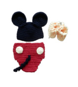 Baby Box Cute Crochet Photogfraphy Clothes Sets