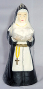 Vintage 1996 Novelty Praying Nun Candle 20cm Tall