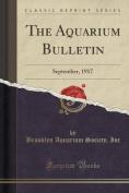 The Aquarium Bulletin
