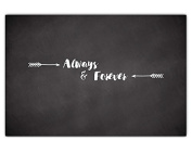 Always Forever Chalk Sign By meijiafei