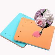 Astra shop Fondant and Gum Paste Modelling Foam Pad Shaping Foam Sugar Craft Tools, Random Colour