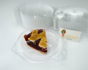 Katgely 15cm Plastic Pie Containers