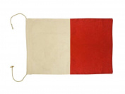 Hampton Nautical Letter H Nautical Cloth Alphabet Flag, Decor, Home Decoration, Wall Art Tool, 50cm