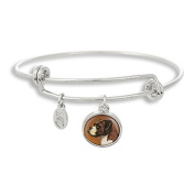 The Adjustable Band Bangle Bracelet featuring the Boxer