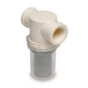 SHURFLO 1-1/4 Raw Water Strainer - 20 Mesh Screen