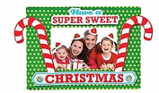 Christmas Picture Frame Craft Kits -12 pack - Candy Cane Christmas