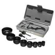 BephaMart 11 in 1 19-64mm Metal Alloys Wood Hole Saw Cutting Set Kit