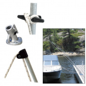 Dock Edge Premium Mooring Whip 2PC 3.7m000 LBS up to 7m (3400-F)