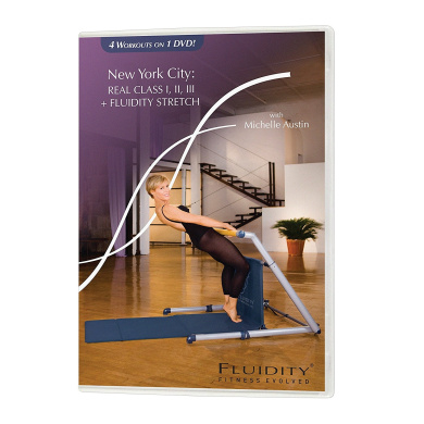 Fluidity New York City Real Class 4-in-1 DVD