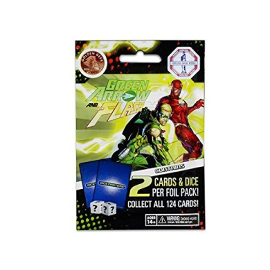 Green Arrow & The Flash - Booster Pack 5-Pack
