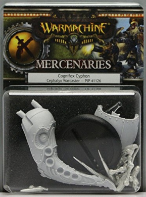 (Ship from USA) Warmachine: Mercenaries: Cognifex Cyphon Cephalyx Warcaster (PIP41126) NEW /ITEM#H3NG UE-EW23D129766