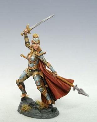 Visions In Fantasy: Female Elven Fighter
