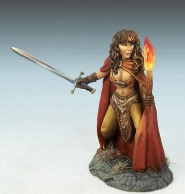 Elmore Masterworks: Female Rogue w/Sword