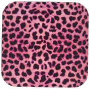 Janna Salak Designs Pink Cheetah Animal Print Coaster, Soft, Set of 4