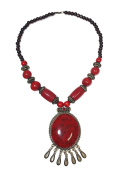 The Trending Jangmu Wooden Beads Fashion Necklace