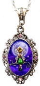 "Alkemie ""Tinkerbell"" Cameo Pendant Necklace with Sparkles"